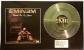 "EMINEM -12""Platinum Disc & cover-CLEANIN' OUT MY CLOSET"